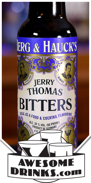 Berg & Hauck Jerry Thomas Bitters