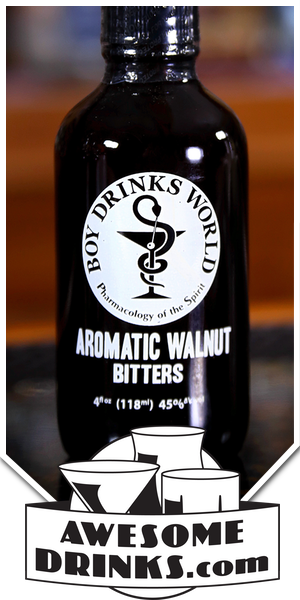 Boy Drink's World Aromatic Walnut Bitters