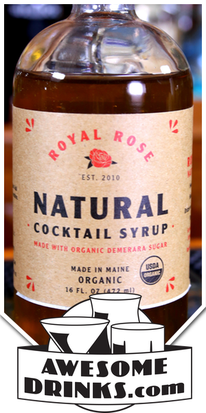 Royal Rose Natural Demerara Simple Syrup
