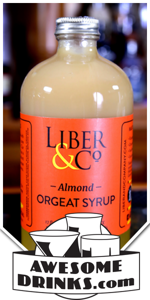 Liber & Co Orgeat Syrup