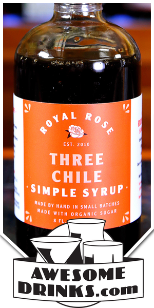Royal Rose Three Chili Simple Syrup
